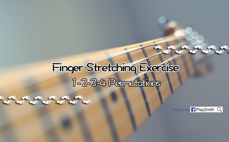 Finger Stretching Exercise: 1-2-3-4 Permutations